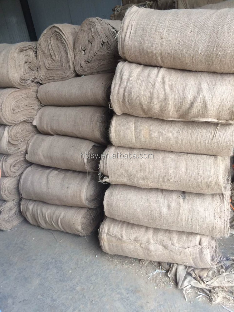 43* 29 inch used and second Concrete Curing Jute Bag/ Old gunny sacks 100kg for Moisturizing / Rice sack 50 kg for construct
