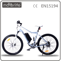 MOTORLIFE 250W 8FUN cheap electric motorcycle for sale / full suspension mountain bike