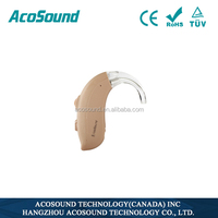 China Deaf Personal AcoSound Acomate 420 BTE competitive price directional sound amplifier hearing aid from factory