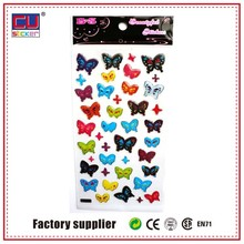 butterfly new design removal decorative kids epoxy wall sticker
