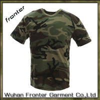 Military Camouflage 100% Cotton Army T Shirt