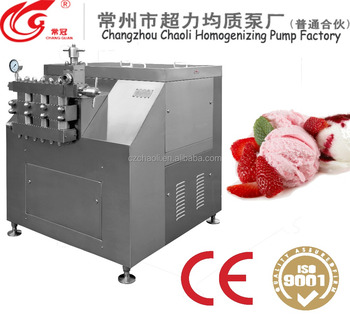Dairy Food Processing And Beverage homogenizer mixer machinery