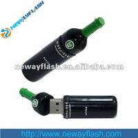 oem rubber beer bottle usb flash drive