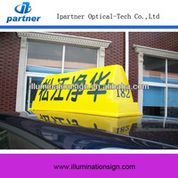 Taxicab Car Dome Signal Advertising Taxi Light Box