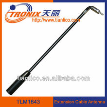 short length mast coaxial cable atuo antenna/fits GM Delcd radio(mini) extension cable antennaTLM1643 ( Factory)