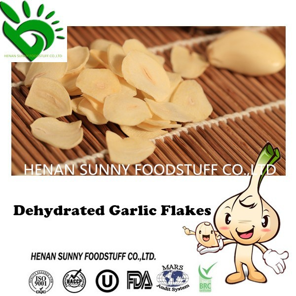 High Quality Natural Dehydrated Garlic Flakes