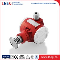 Water and fuel tank hydrostatic pressure level transducer / transmitter