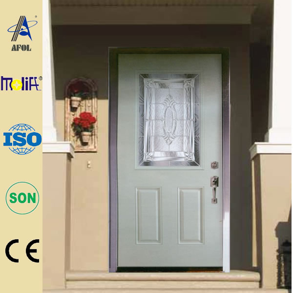 High-quality modern design 30 inch entry door