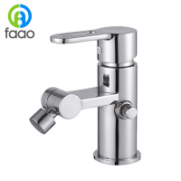 FAAO New Design Single Handle Brass Bidet Faucet Mixer