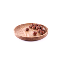WB200-131 Customized Oak Wood Wooden Serving Tray Wood <strong>Plate</strong> Dish
