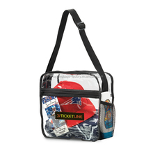 Phathalate-free Sporting NFL & PGA Clear PVC Event Messenger Bag