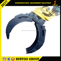 10 ton excavator hydraulic rotating grab Germany motor stable performance