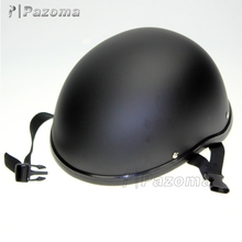 Hot Selling Pazoma High Quality ABS Matt Black Stylish Motorcycle Half Face Helmets