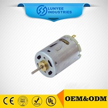 RS555 small low rpm DC motor