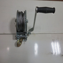 2000 LBS Marine Steel Cable Hand Winch