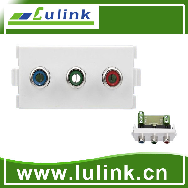 48*24 component video wall module socket plate