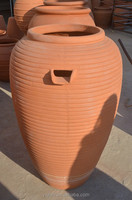 Big Pottery& ceramic flower Pots for Outdoor Decoration