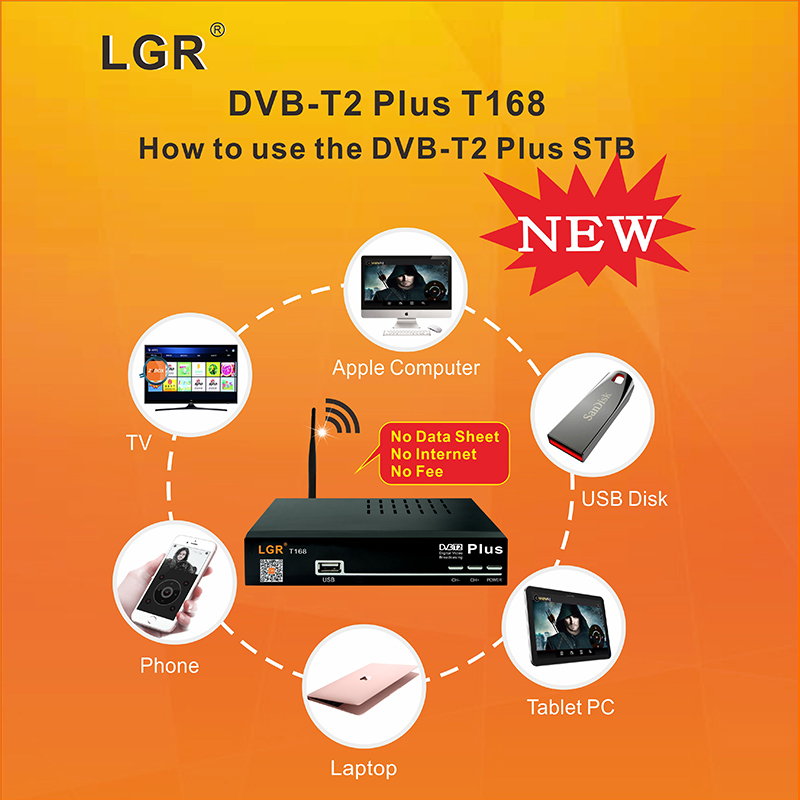 OEM DVB T2 PLUS new quality full hd strong tuner mstar 7t01 Finland tv decoder set top box dvb t2