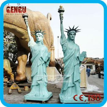 Big size fiberglass the Statue of Liberty