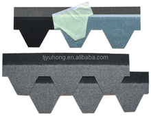 Hexagonal Asphalt Shingle (Color: Slate)