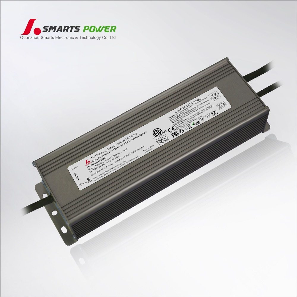 24v 120w aluminum constant voltage dali dimmable led strip driver