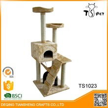 Cats Application and Stocked Eco-Friendly Feature Cat Tree Bed