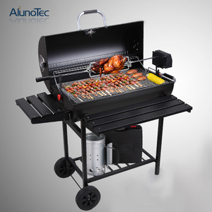 High Temperature Lacquer Deluxe Outdoor Charcoal Barbeque Grill