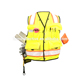Function Hi Viz Reflective Stripes Construction Vest