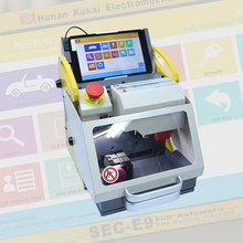 Latest 8 inch tablet sec-e9 china high security key cutting machine car key cutting machine