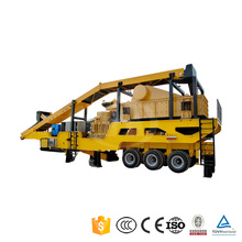 Hot Selling !! Mobile portable jaw crusher plant with high quality for sale from direct manufa