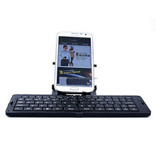 Universal Bluetooth Foldable Mini Electronic Keyboard for phone,Computer, iPad and Wireless Connection Folding Mouse Keyboard