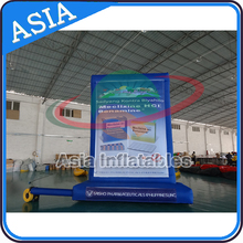 Outdoor Wall Advertising inflatable billboard /Bnner printed / floating banner