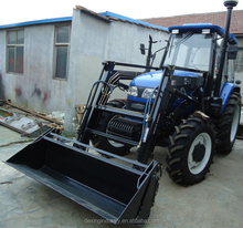 2017 China Hot Sale Foton Lovol Farm Tractor with Front Loader for Sale