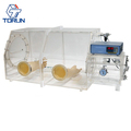 Acrylic Glove Box Clear View Made In China with Pressure Control System for Universal Testing Research