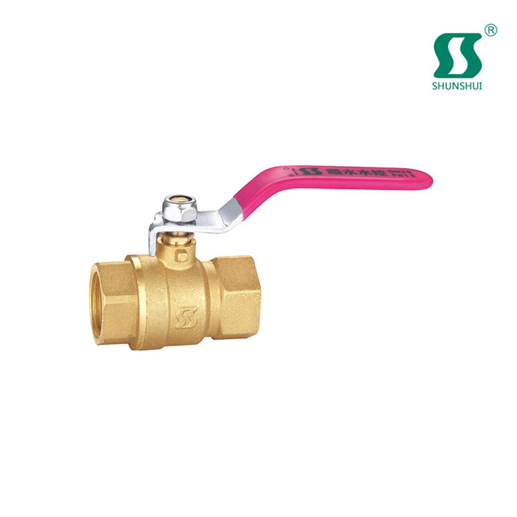 brass float ball valve 4 inch floating with aluminum handle
