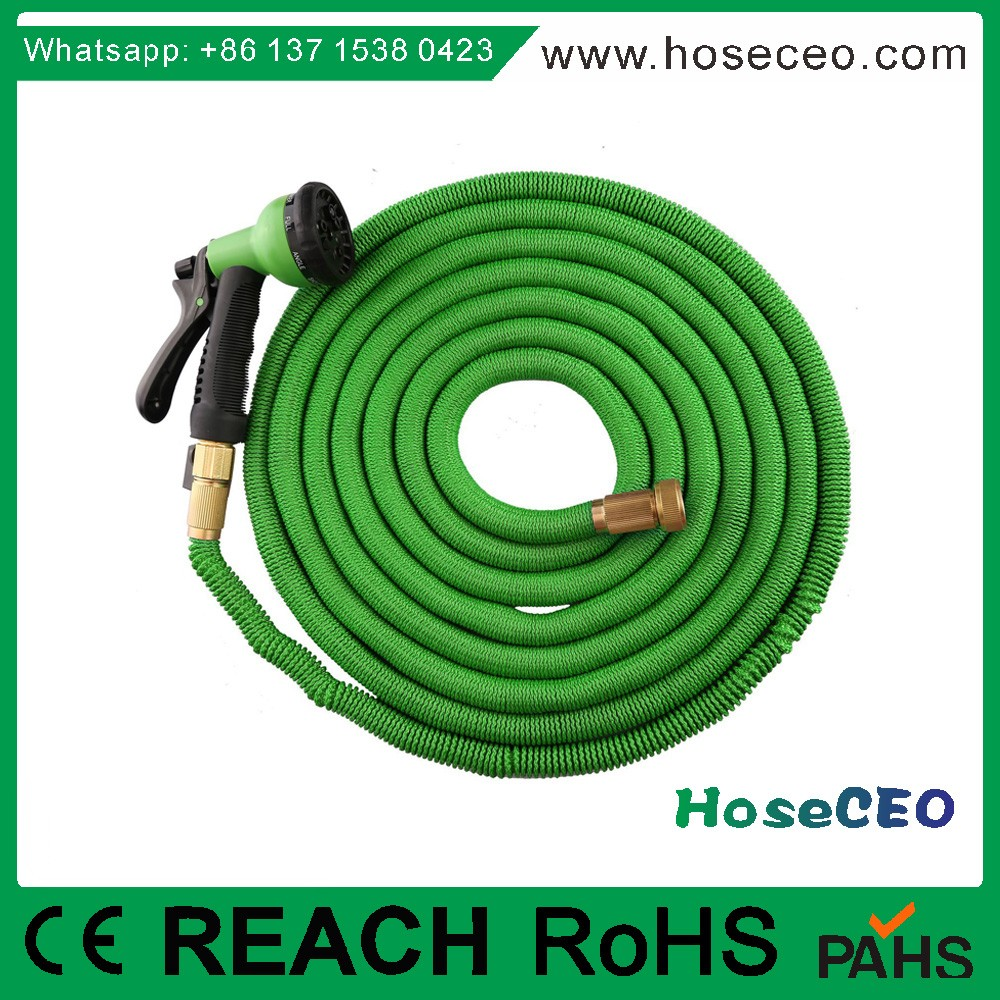Testing 2000 Times Nlyon Fabric Unbreakable Expandable Hose Reel for Watering