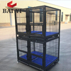 2018 Hot Sale Heavy Duty Square Tube Dog Cage Kenel With Customized Tiers