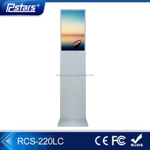 Factory wholesale interative information kiosk, Self-service advertising LCD display with SD/USB/HDMI Inputs