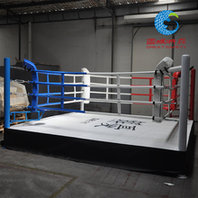 high quality International standard floor boxing ring used for mma or wrestling