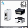 Best selling mobile accessories 40W 5V 8 amp usb charger multi usb charger