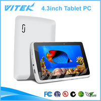 New Dual Core mini touch panel 4.3 inch android mini tablet