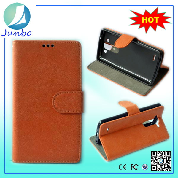 Original Wholesale Custom Flip Cover Leather Wallet Case for lg t375