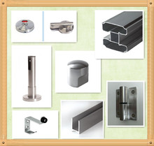 304 Stainless Steel Toilet Cubicle Partition Hardware