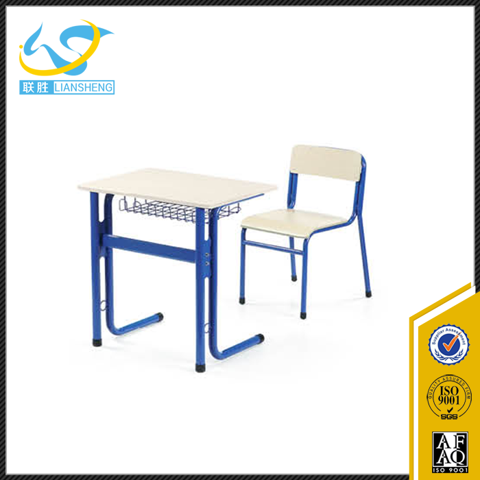 used metal frame student desk and chair / school sets