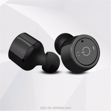 2017 Car Mini Invisible Bluetooth Headset True TWS Wireless Bluetooth Stereo Earphone Portable Earbuds In Ear