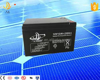 China manufacturer 12v Deep Cycle Gel battery Top Quality GEL Type Battery 12v 12ah AGM solar battery