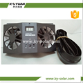 solar power cool small size ventilation auto car fan modern