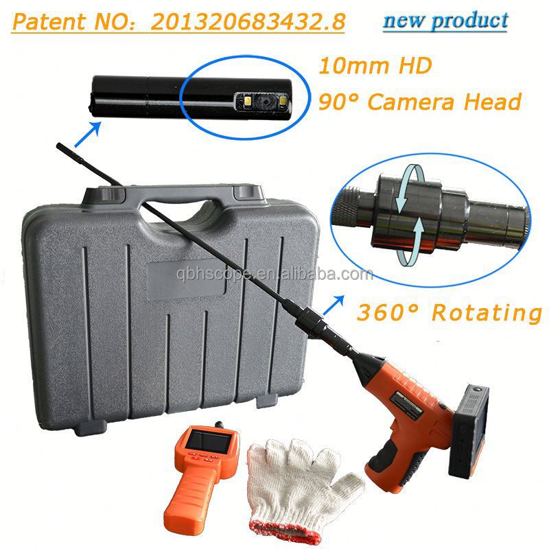 High resolution inspection camera with falshlight for under vehicle inspection