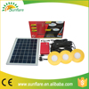 10 watt portable mini solar panel system for home or camping