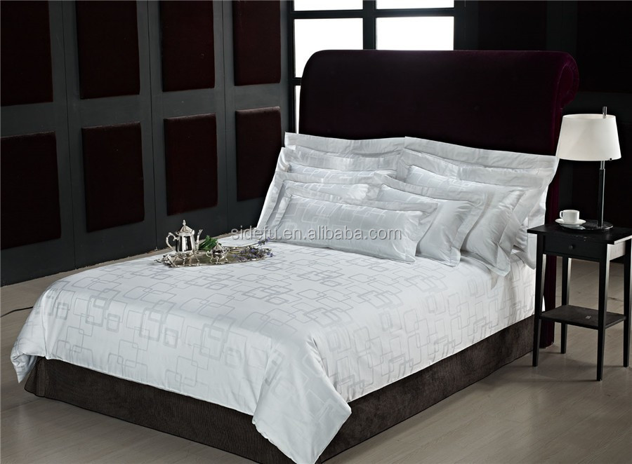 manufacturer wholesale jacquard bedding duvet cover set for hotel